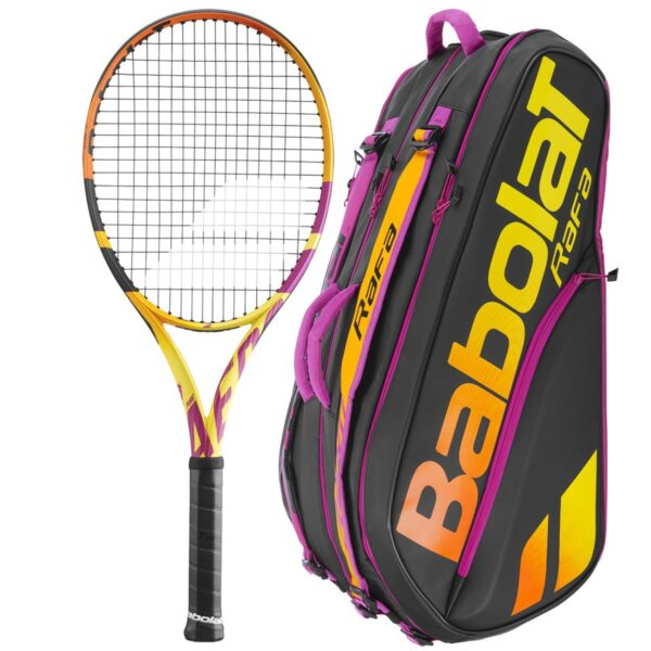 Racket + Rackettasche im Bundle