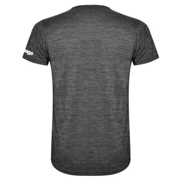 Sportshirt Herren SD white black back