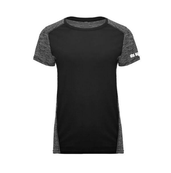 Sportshirt Damen SD black front