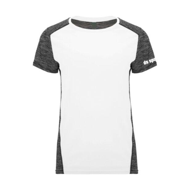Sportshirt Damen SD white black front