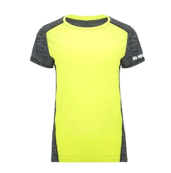 Sportshirt Damen SD yellow black front